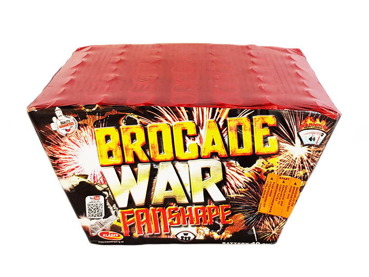 Brocade war  49 lövés / 25mm – fan shape