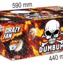Dumbum Crazy Fan 135 lövés / 20mm – ferde